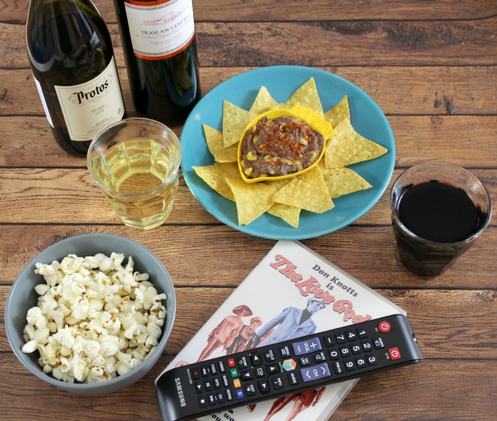 #SiWhatsNext #CG Ribera y Rueda movie night in Netflix