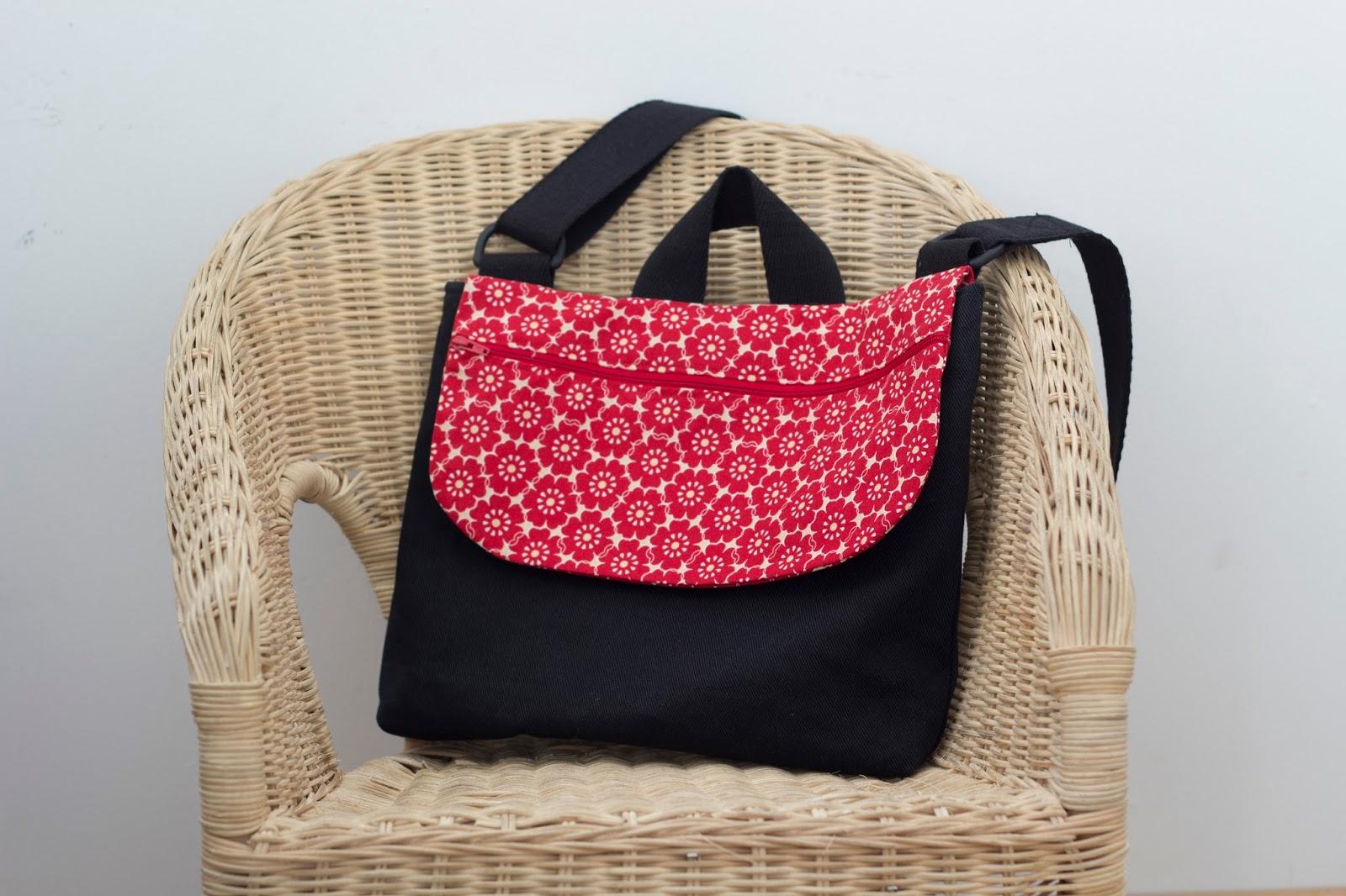 semana pasada Daii esta mi compi he encargo el cosido Adaptando la de patrón bandolera que mochila por bolsa enseñaba de trabajo os la una de XwxnPpvwq