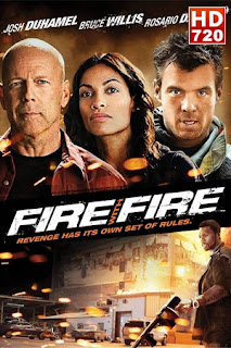 Poster de Ver Película Fuego contra Fuego Online (2012)