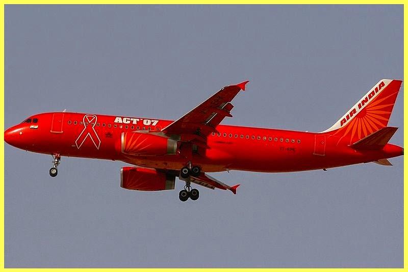 Avión Día Sida