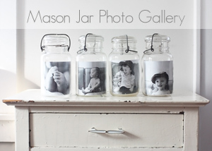 Mason Jar Photo Gallery