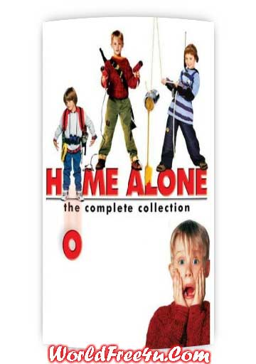 Poster Of Home Alone All Parts In Hindi English Dual Audio 300MB Compressed