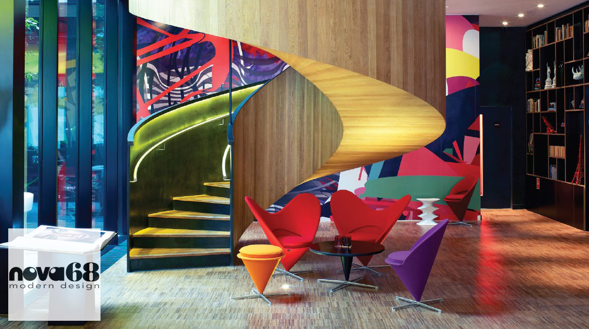 Verner panton interior design - Modern Design