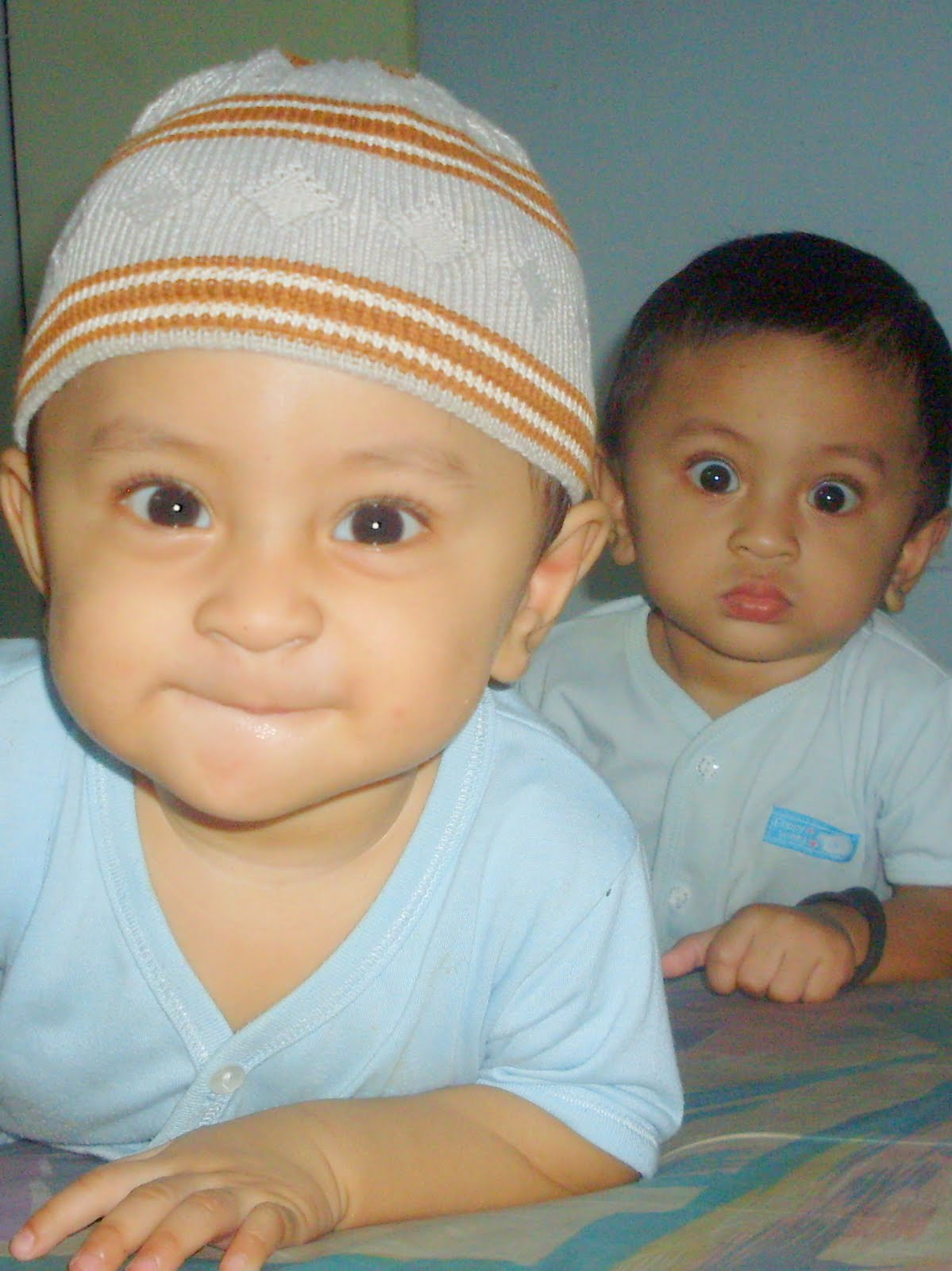 The twins, 2nd and 3rd Haikal dan Harith