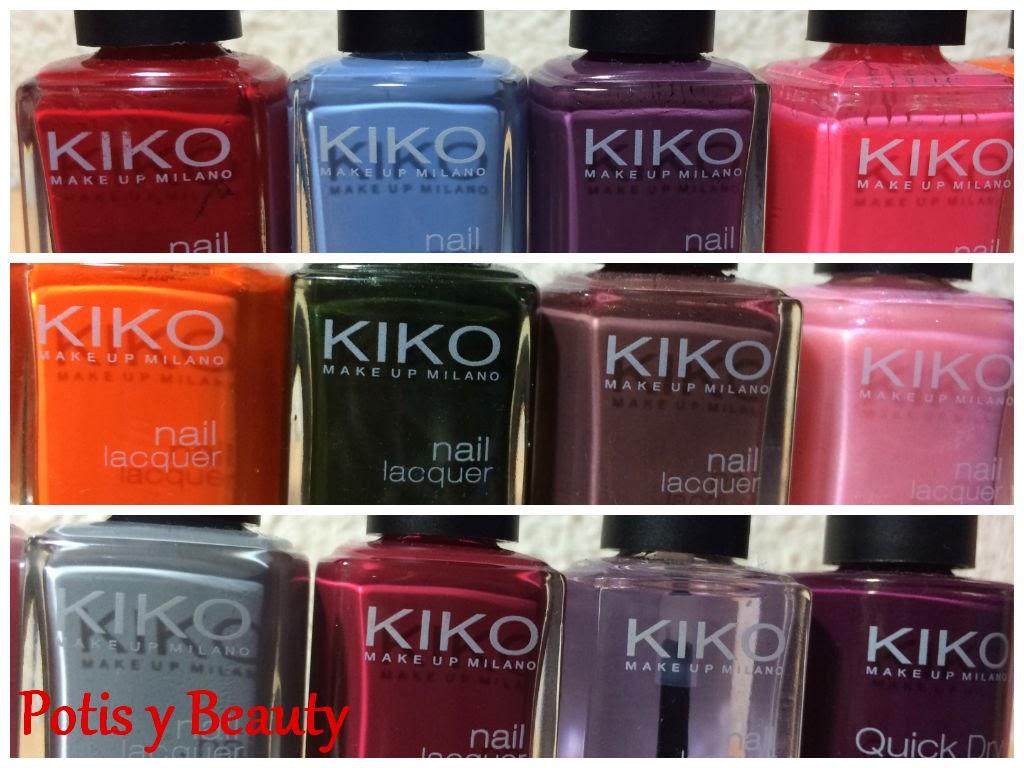 colección esmaltes Kiko