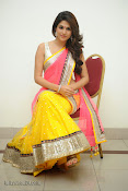 Shraddha das photos in Saree at Rey audio launch-thumbnail-18
