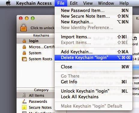 mac os x keychain identity preference
