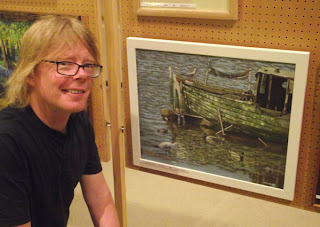 martin davey at Romsey king Johns house art exhibition