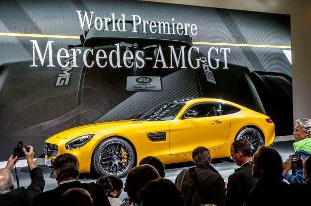 2016 Mercedes-AMG GT by the Numbers
