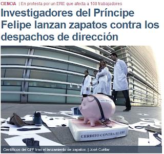 ERE salvaje en el centro de Investigación Principe Felipe Valencia