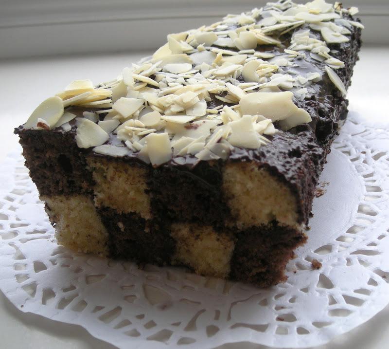 damalı pasta yapardık bu kek