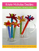 Felted Pen + Pencil Cozies