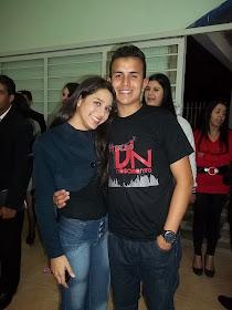 Alex e Nandara.