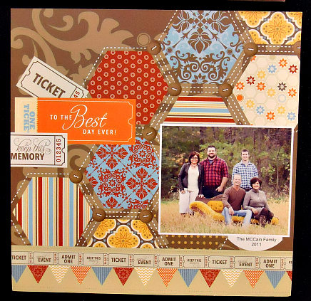 Best Day Ever Digital Scrapbook Page