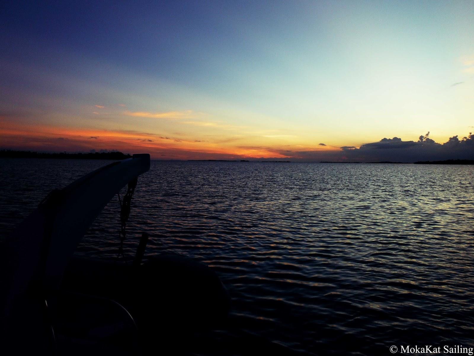 Seiling en katamaran i Belize og Rio Dulce i Guatemala