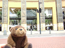 "Teddy Bear visiting ""Gateway"" in Durban,South Africa"