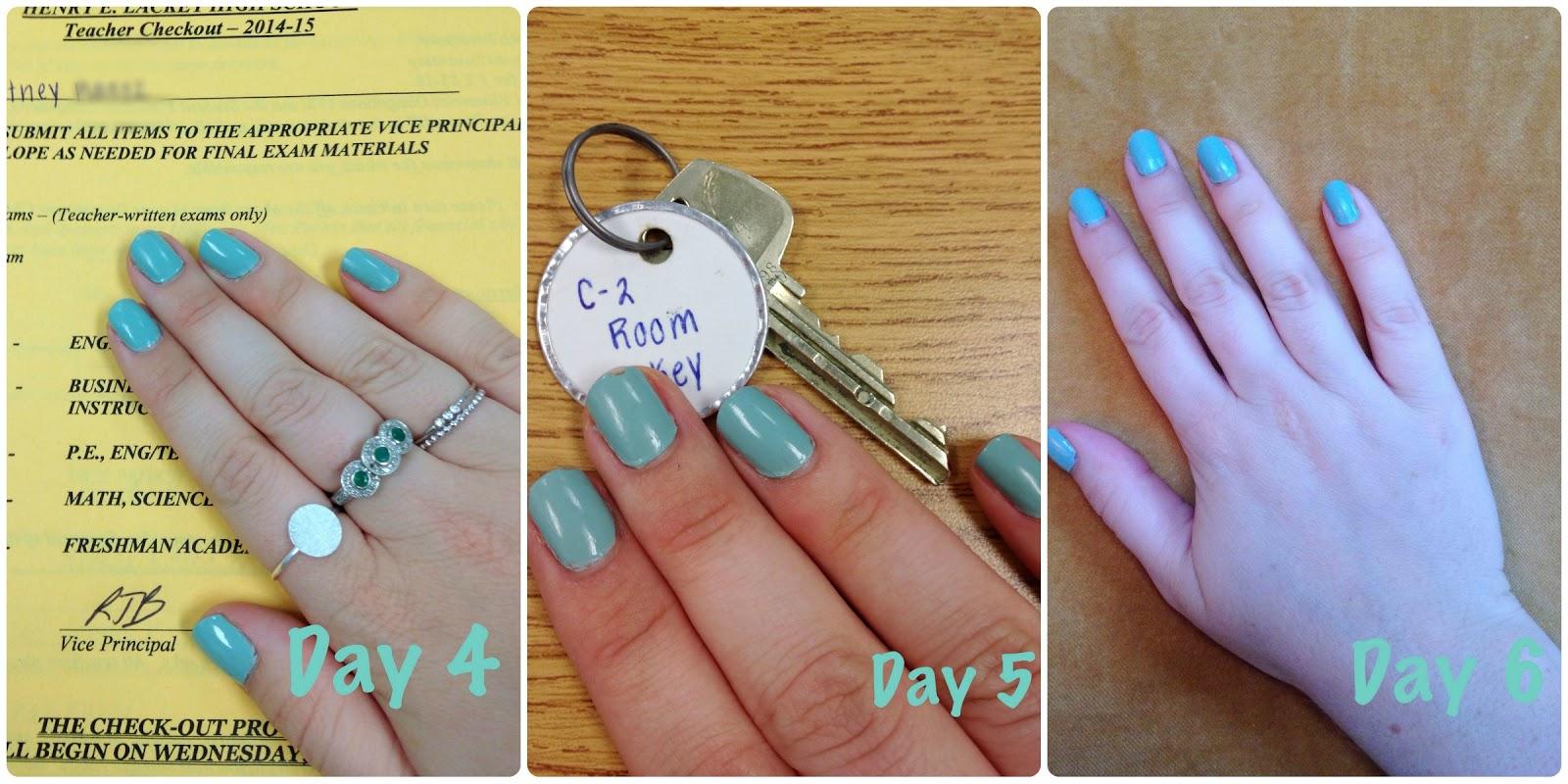 Create28~Day 9 Polishing My Nails - A Stylish Fit