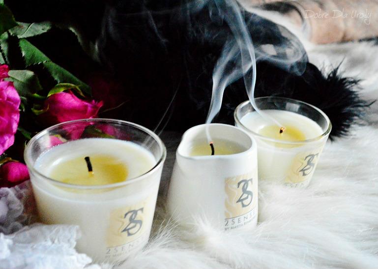 Świece do masażu 2 Senses by Marta Rynkiewicz