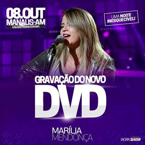 Confira local e data da gravação do novo DVD de Marília Mendonça