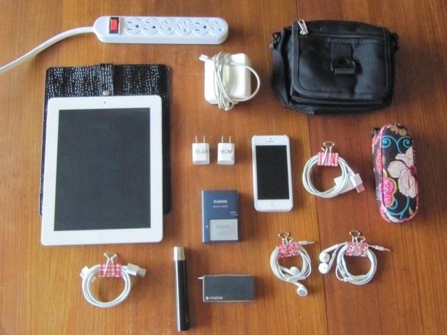 Sew Many Ways...: Tips to Organize Electronics and ...