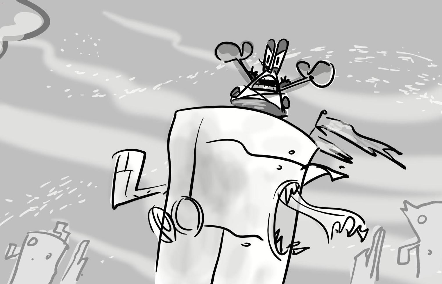 cartoon snap spongebob movie 2 some of my storyboard and