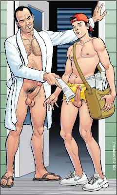 Imagens de sexo gay em desenho