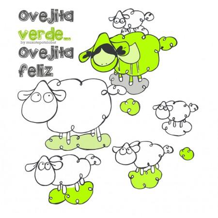 Ovejita verde, ovejita feliz