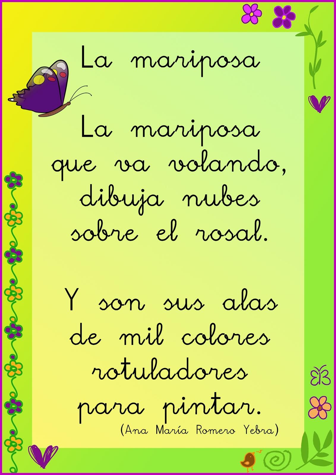 Poemas De Primavera Para Ninos En Espanol