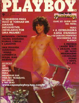 Confira as fotos de  Katia Dangelo, capa da Playboy de agosto e 1979!