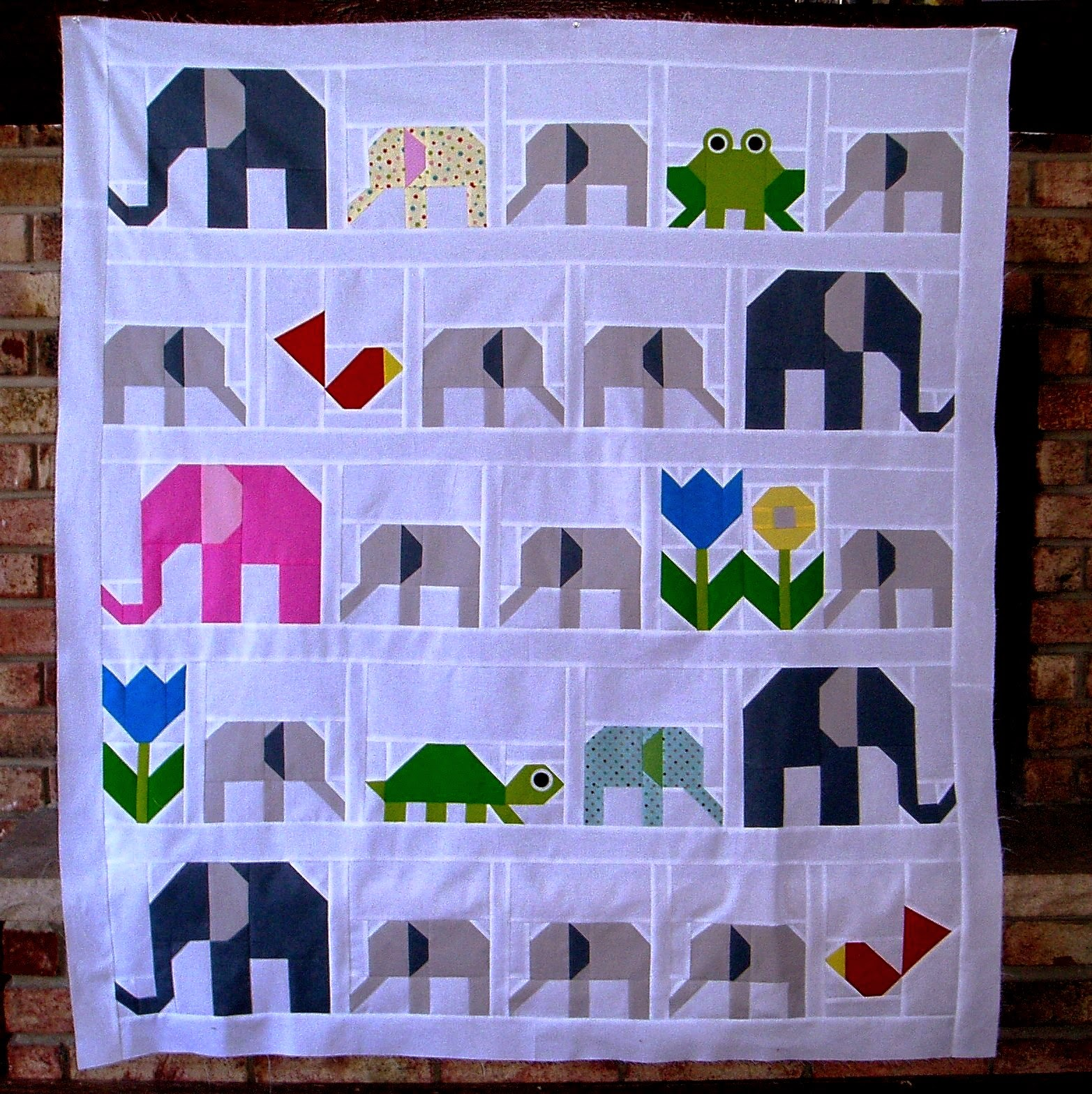 The Academic Quilter: Mutant elephants