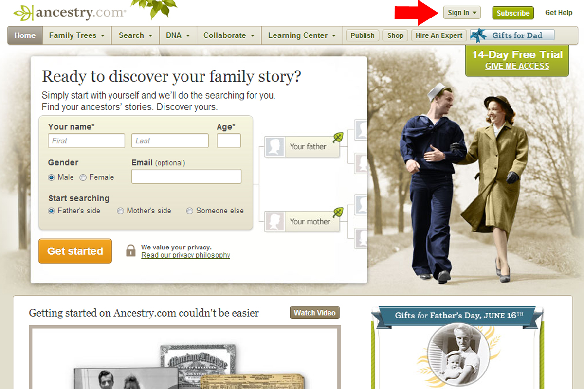how to export your family tree from ancestrycom teach me genealogy