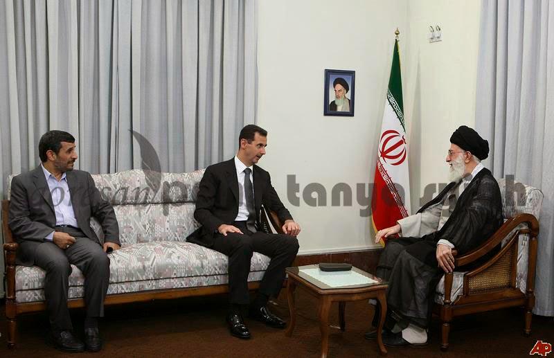 Syiah Sufyani Bashar Assad as Suryani