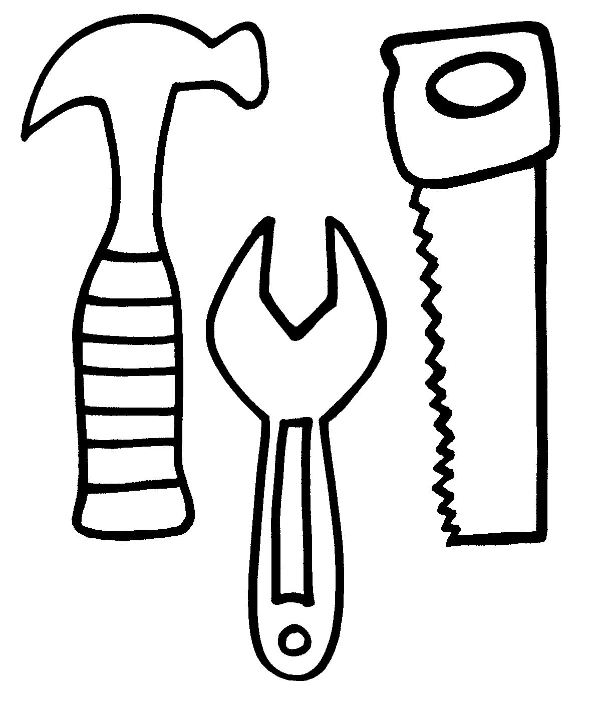 tools coloring pages - photo#1
