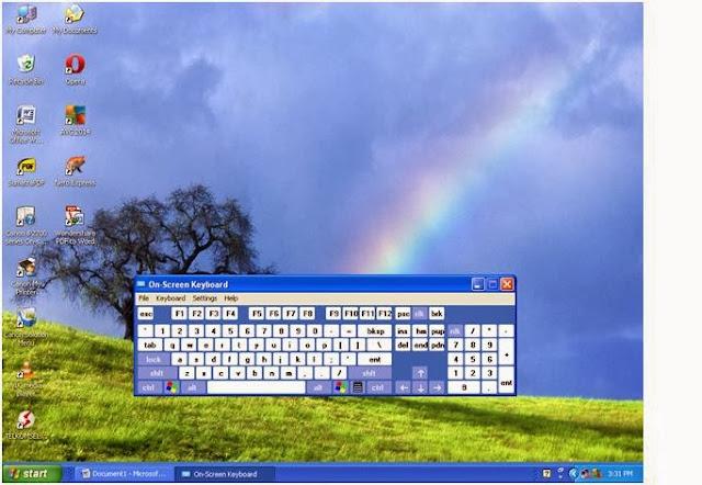 Software Virtual Keyboard Untuk Menggantikan Keyboard Yang Rusak