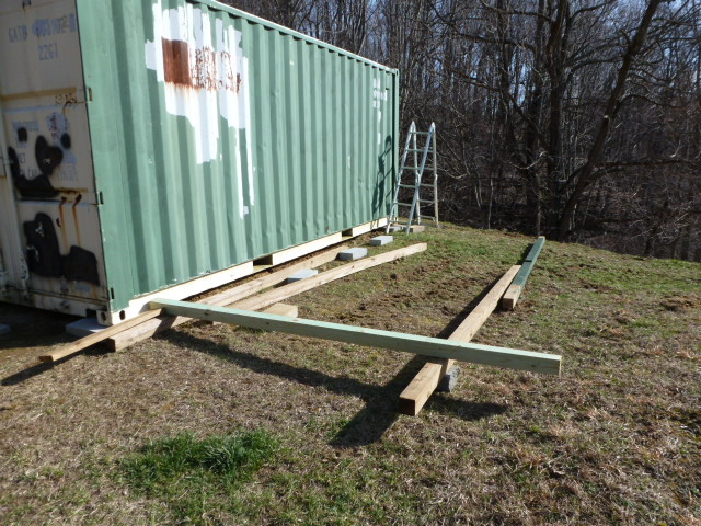 Mike and Lisa's World: Chapter 128...How To Build A Shed Part 1