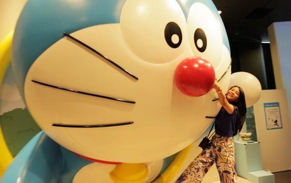 Amanda Zevannya Doraemon Sky Park