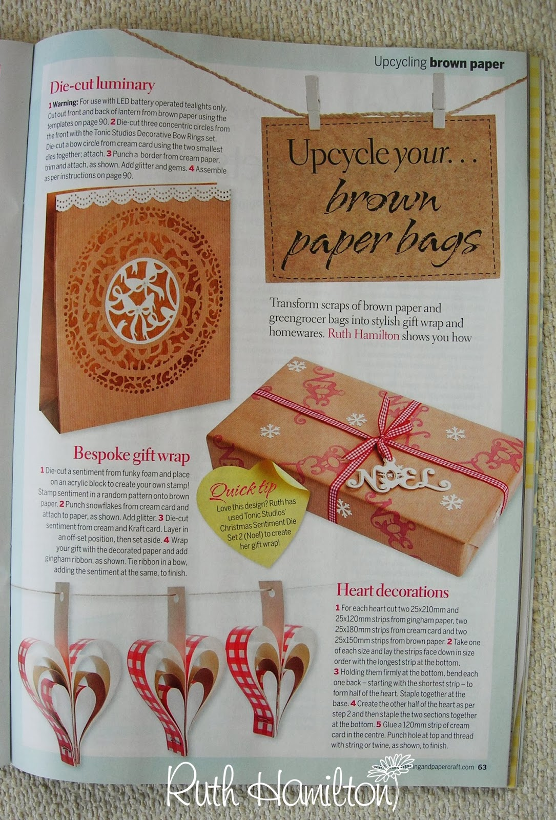 A Passion For Cards: Cardmaking and Papercraft mag December issue