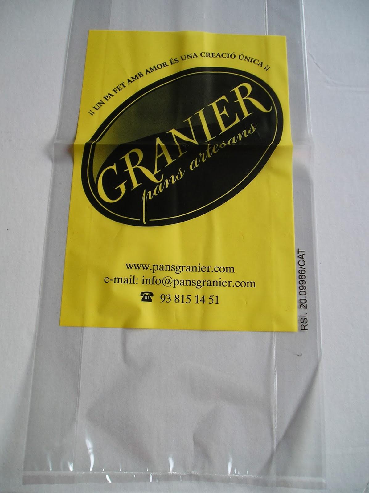 bolsa para pan de molde con fuelle laterales PP