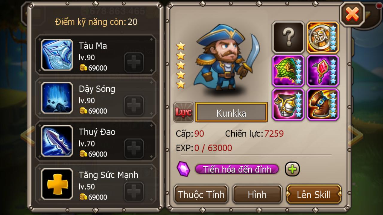 Hình ảnh game Dota Truyền Kỳ