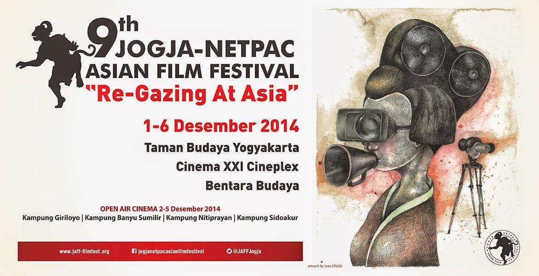 Jadwal Jogja-NETPAC Asian Film Festival JAFF#9 2014