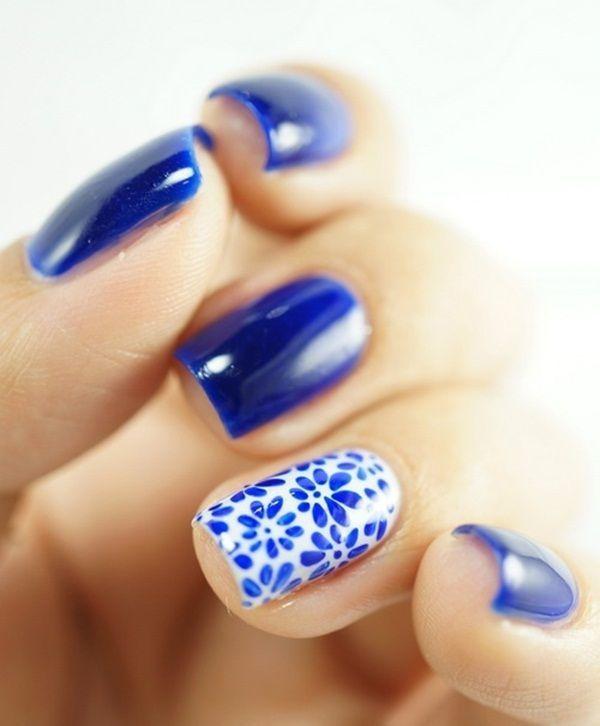 Bellos diseños para uñas corta   Moda y Tendencia