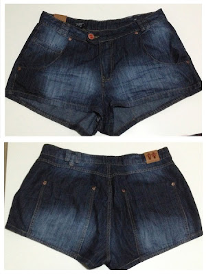 SHORT JEANS LARGUINHO R$ 69,90 - TRAXY