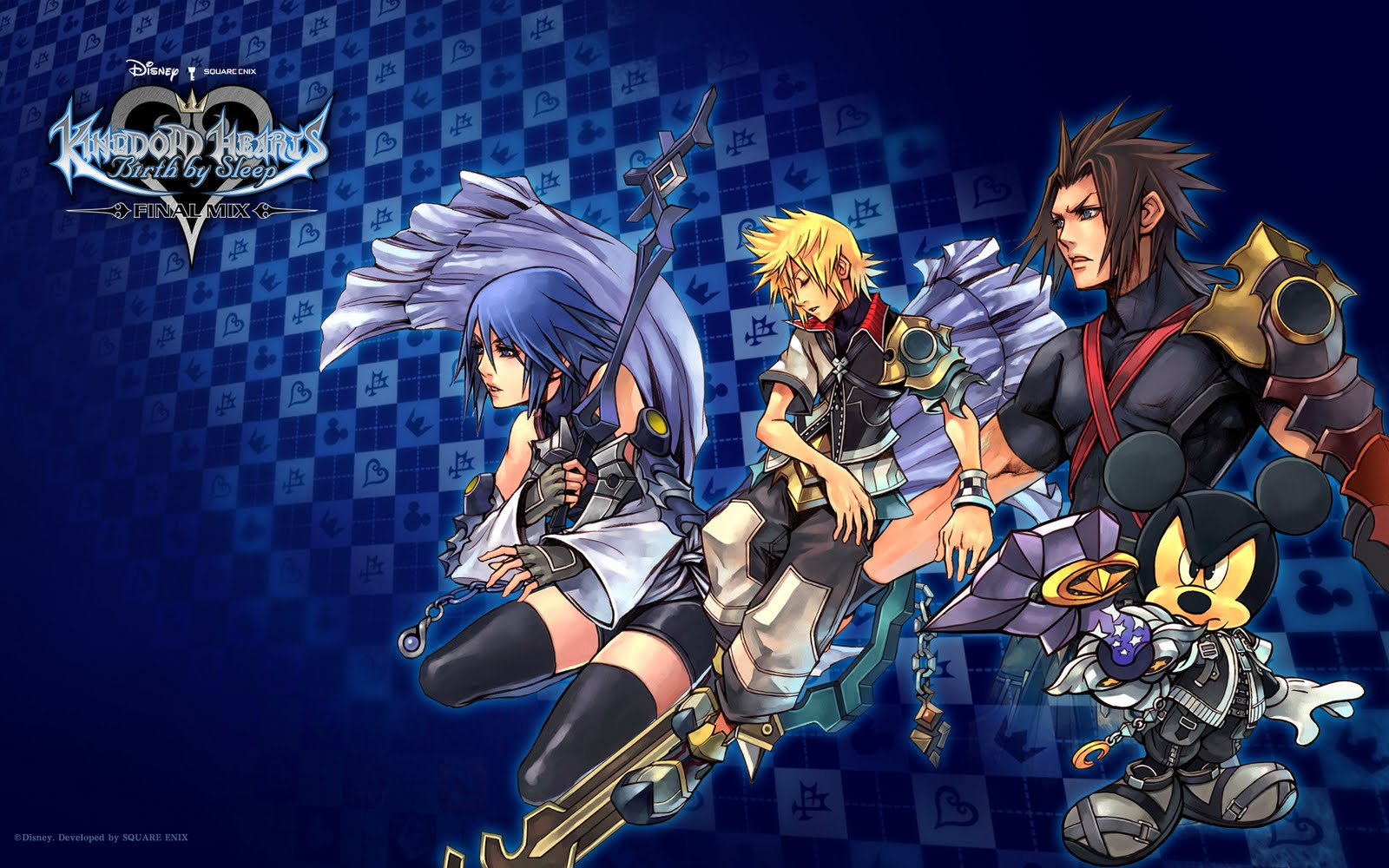 kingdom Heart HD & Widescreen Wallpaper 0.594007356690141