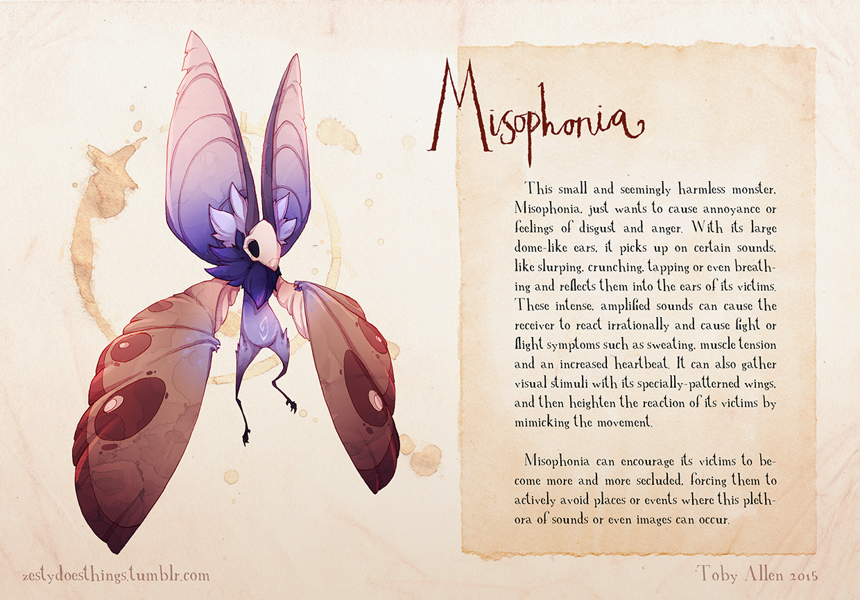 09-Misophonia-Toby-Allen-Monster-Illustrations-to-Embody-Mental-Illness-www-designstack-co
