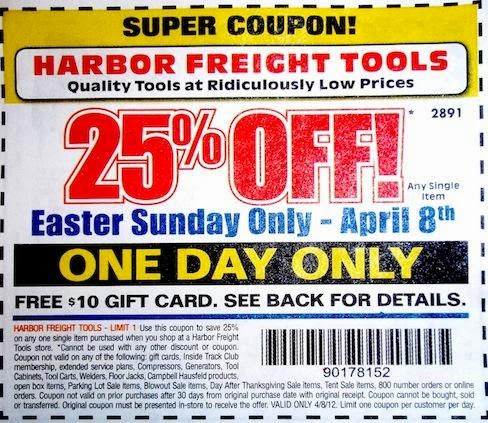 Harbour freight coupon code