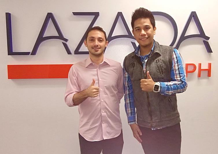 Inanc Barci, Mark Milan Macanas, Lazada Philippines CEO