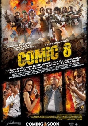 Sinopsis Film Stand Up Comedy : Comic 8 (2013)