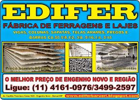 EDIFER, fábrica de ferragens e lajes