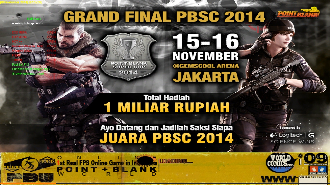 Cheat Point Blank 9 November 2014 Until MT