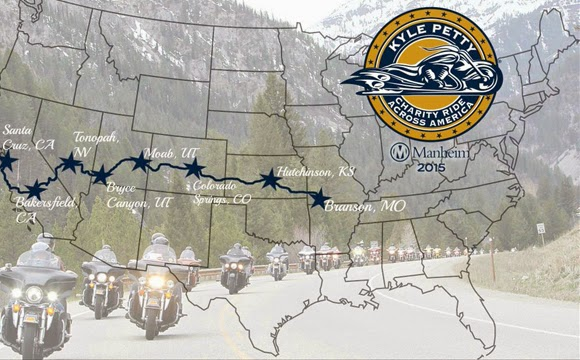2015  Kyle Petty Charity Ride Across America